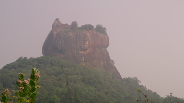 MS Scenic view of towering,majestic rock formation,Sri Lanka