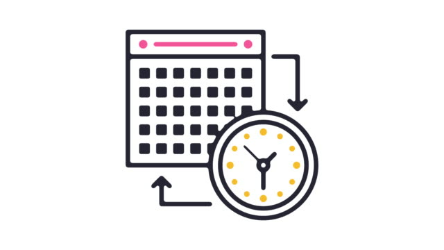Schedule Icon Animation