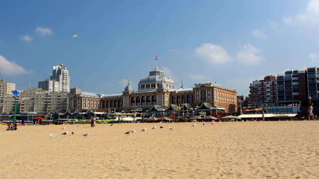 stockvideo's en b-roll-footage met scheveningen in nederland - den haag