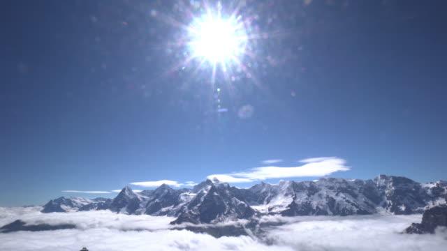 Schilthorn Swiss Alps Time Lapse video