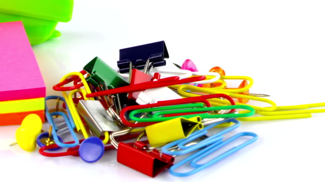 School Education or Office Work Equipment Tools video