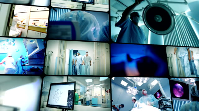science and medicine montage - medical equipment stock videos and b-roll footage