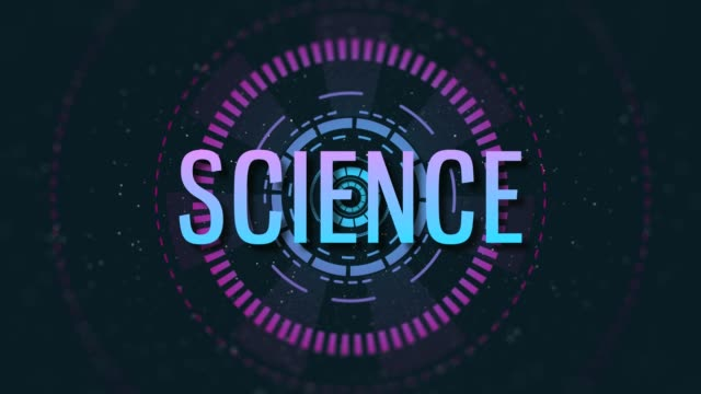 4K Science Background