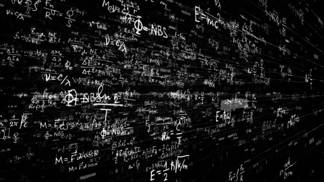 science, math, chemistry equations - physics stock videos and b-roll footage