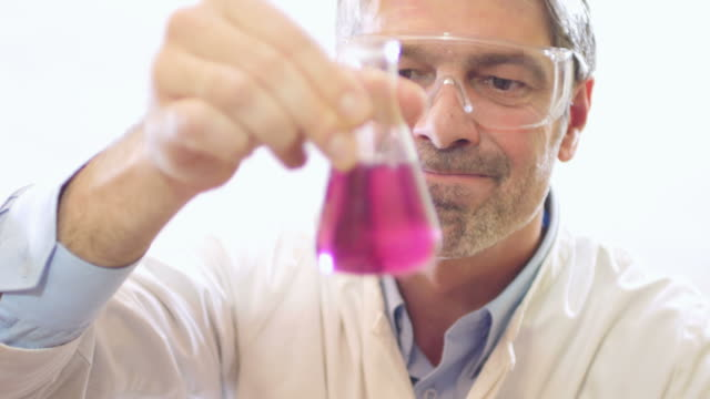 A scientist is not satisfied with the water hardness test-the water is hard video