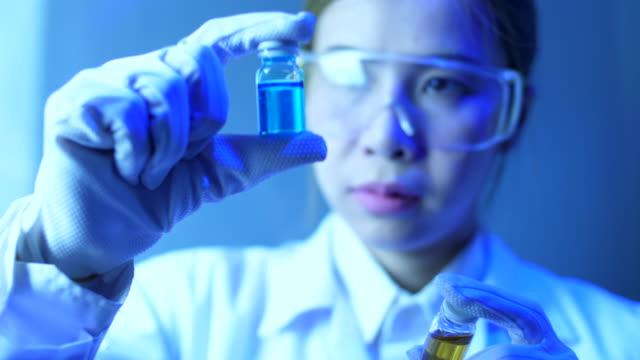 Scientist woman in a laboratory