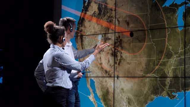 Scientists discuss solar eclipse shadow on Earth video