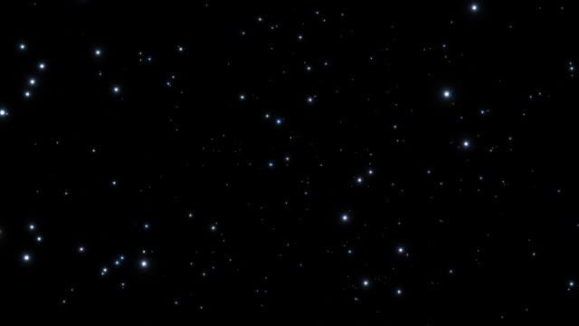 Sci-fi - Stars Tilt in space video