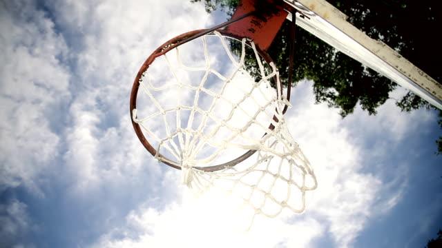 HD SUPER SLOW-MO: Scoring A Basket video