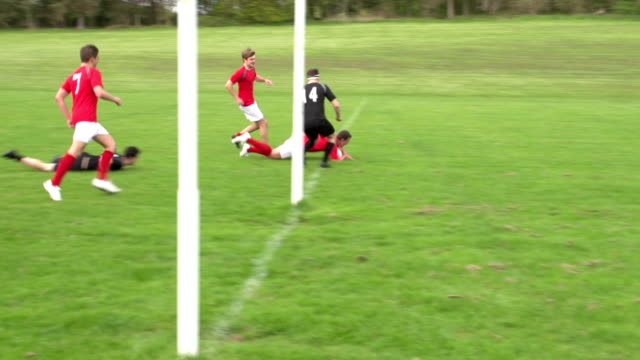 Scoring a try in Rugby match (Sport) video