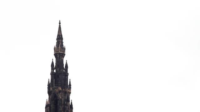 Scott Monument, in Edinburgh video
