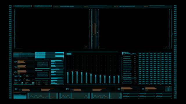 Screen element for 3D artists and mition designers. Futuristic multi screen gadget panel. Glowing blue futuristic interface Screen element for 3D artists and mition designers. Futuristic multi screen gadget panel. Glowing blue futuristic interface hud graphical user interface stock videos & royalty-free footage