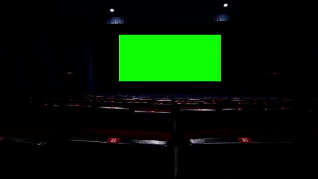 vidéos et rushes de écran de cinéma vide - cinéma