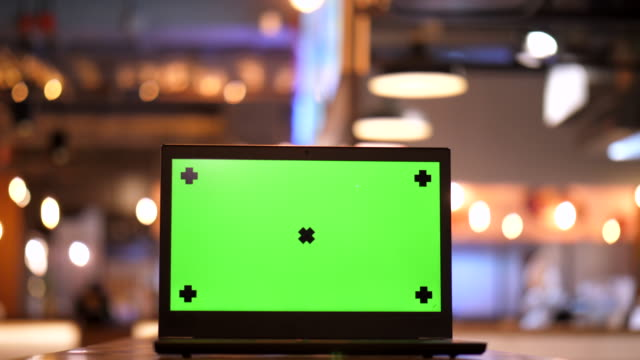 Screen Labtop Chroma key