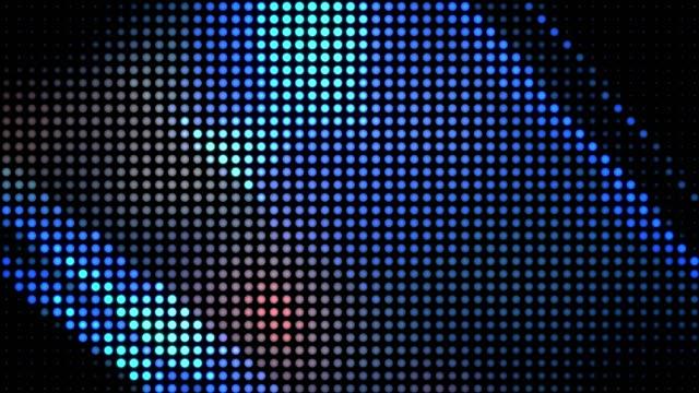 LED screen. Pixel pattern. Vide loop. video