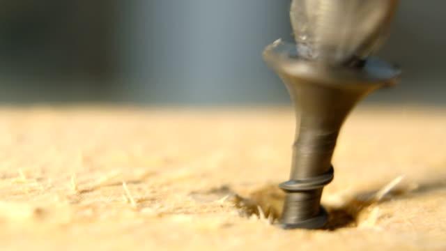 Screwing The Screw In Wood video