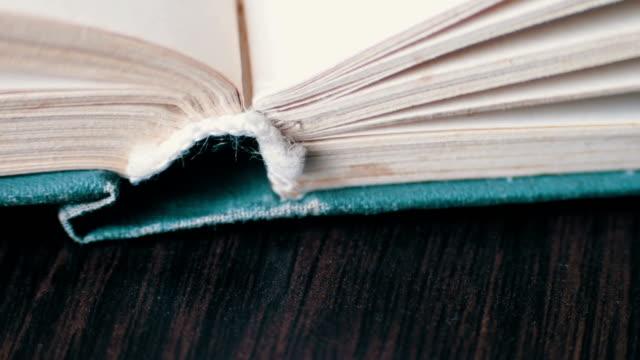 Scrolling a Book in Macro video