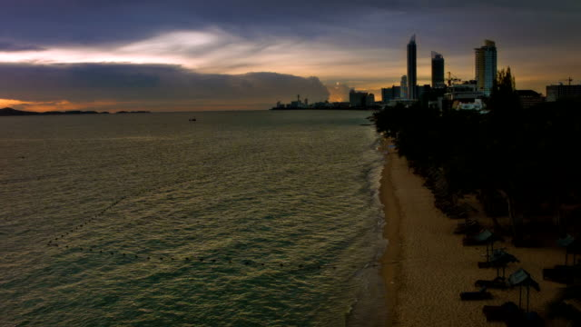 Meer und die Stadt. – Video