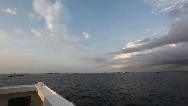 Sea clouds video