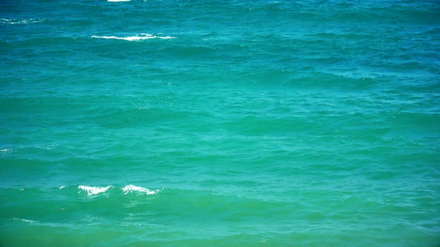 sea horizon slow motion video