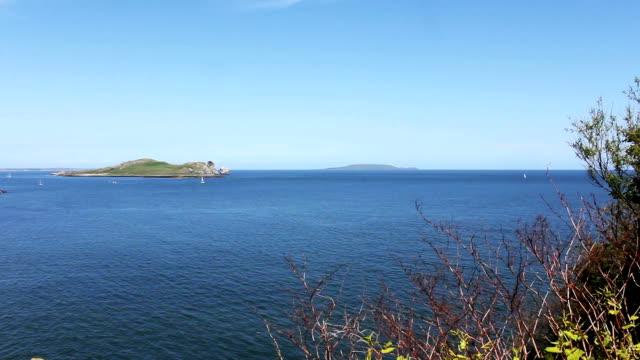 Sea, Howth, Dublin Bay, Ireland video