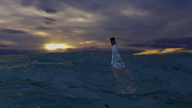 Sea Message in Bottle 1 video