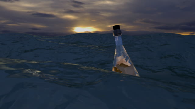 Sea Message in Bottle 2 -opening video