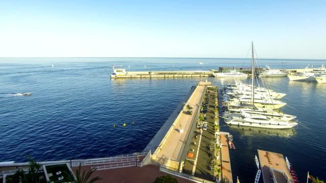Sea port of Monte Carlo, Monaco video