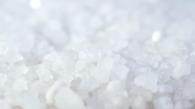 Sea salt. video