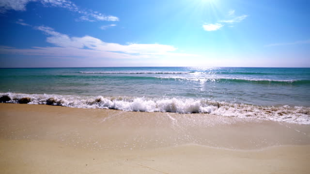sea. sky. beach. holiday background - exotic stock videos & royalty-free footage