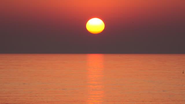 海上日落 - 日落 個影片檔及 b 捲影像