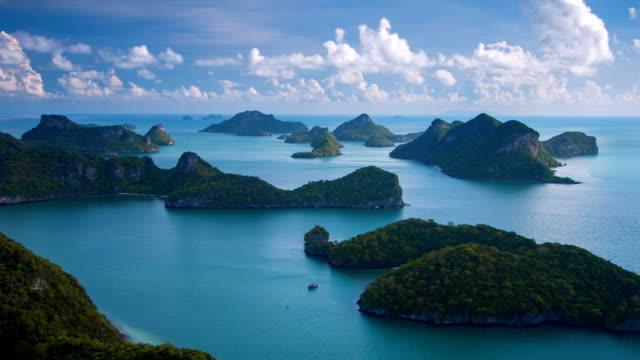 Sea Thailand, Mu Ko Ang Thong Island National Park video