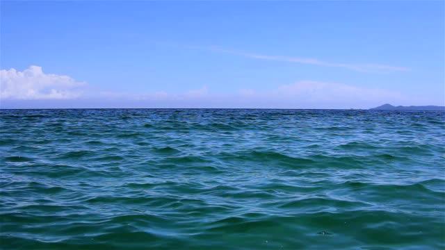morze - horyzont wodny filmów i materiałów b-roll