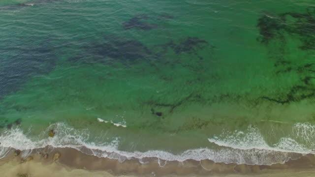 Sea Waves Aerial video