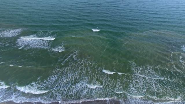 Sea waves and beach video