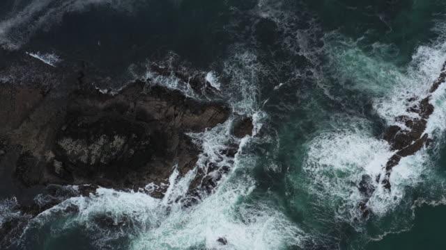 Sea waves in the Isle of Skye - Scotland video