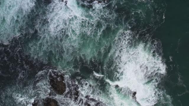 Sea waves in the Isle of Skye - Scotland Sea waves in the Isle of Skye - Scotland, UK. scotland stock videos & royalty-free footage
