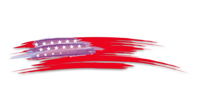 nahtlose amerikanische flagge nahaufnahme von united states flagge. 4k animationsvideo - spruchband stock-videos und b-roll-filmmaterial