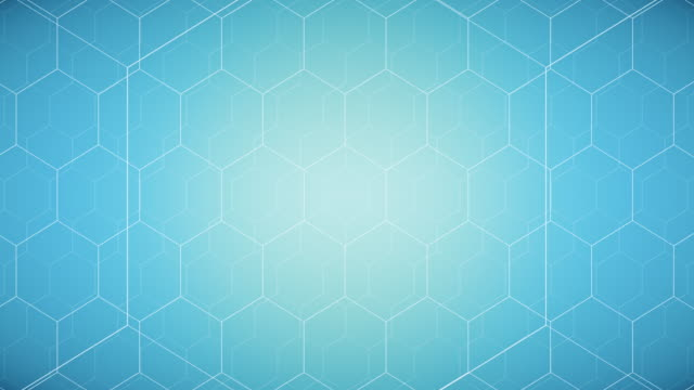 seamless hexagon backgrounds - ripetizione video stock e b–roll