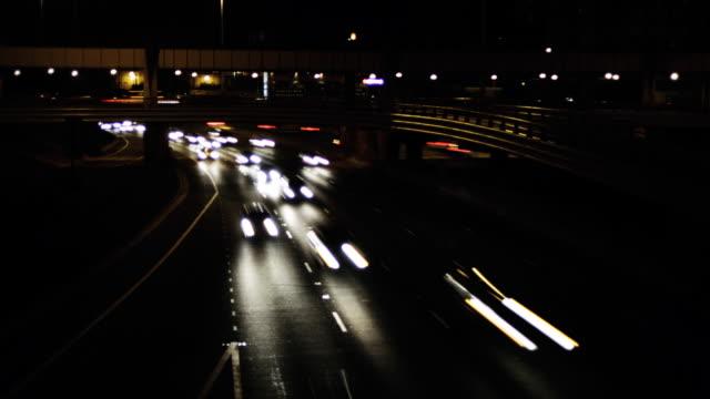 vídeos y material grabado en eventos de stock de seamless loop: la 90/94 chicago time lapse hd1080p24 limpieza - uso compartido del coche
