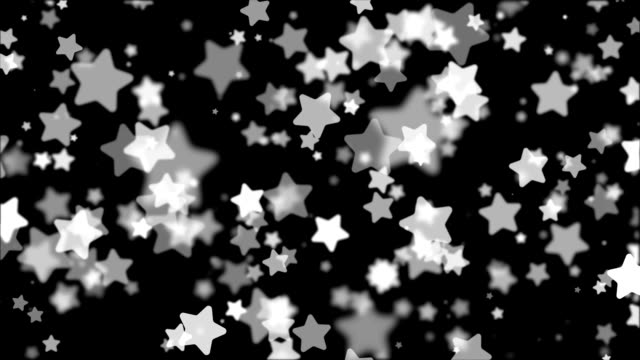 Seamless loop abstract geometric background with motion stars. video