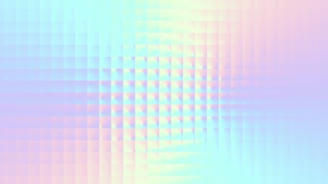 nahtlose schleife abstrakte bewegung hintergrund. - holografisch stock-videos und b-roll-filmmaterial