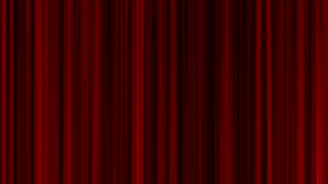 seamless loop close red curtain movement background video