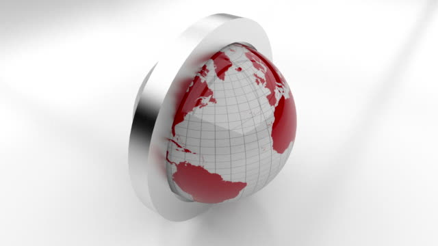 Seamless Loopable Earth Animation video