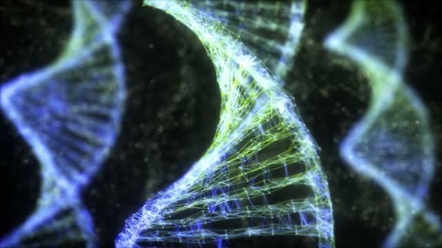 dna seamless looping - genforschung stock-videos und b-roll-filmmaterial