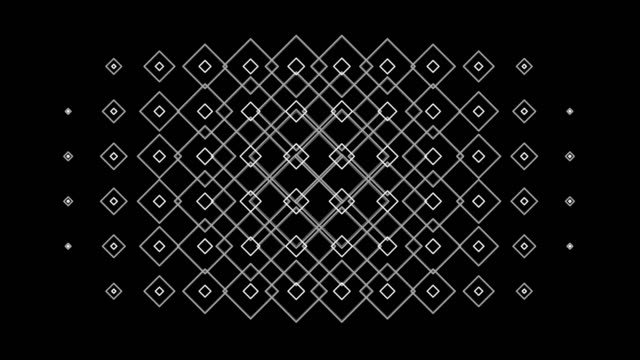 Seamless Pattern Gradient Kaleidoscope ornament Loop Graphics Background Pattern video