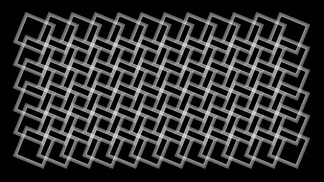 Seamless Pattern Kaleidoscope Rotation Loop Graphics Rectangular pattern Background Pattern video