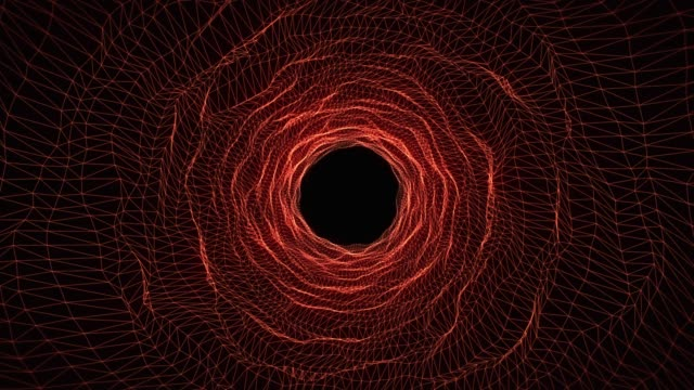Seamless tunnel motion background