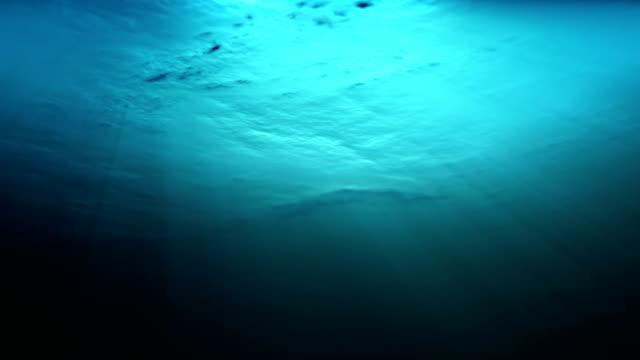 Seamlessly loop-able underwater view影片