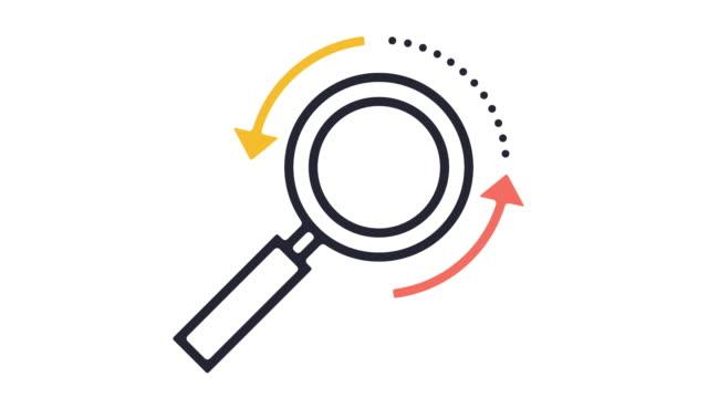 vídeos y material grabado en eventos de stock de animación de icono de motor de búsqueda - seo
